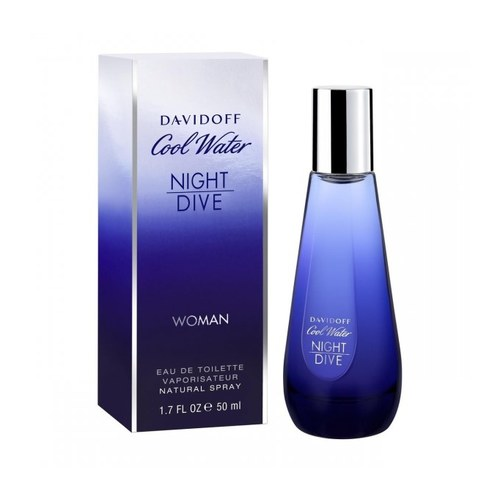 Afbeelding van Davidoff Cool Water Night Dive women Eau de toilette 50 ml