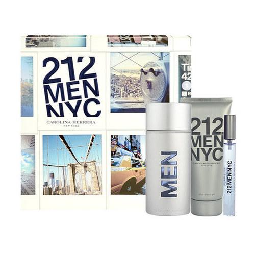 Carolina Herrera 212 Men NYC gift set