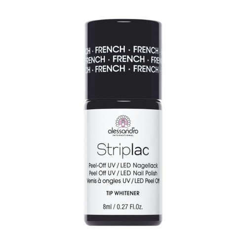 Alessandro Nagellack Striplac French 8 ml Tip Whitener