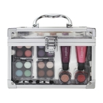 Make-up set doorzichtige koffer