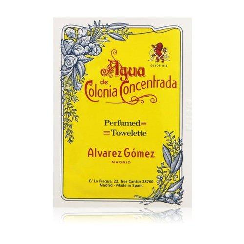 Afbeelding van Alvarez Gomez Agua de Colonia Concentrada Opfrisdoekjes 10 stuks