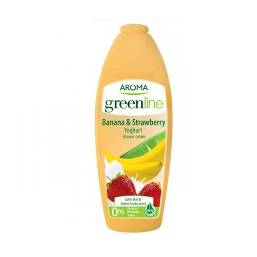Aroma Green Line Banana & Strawberries 400 ml