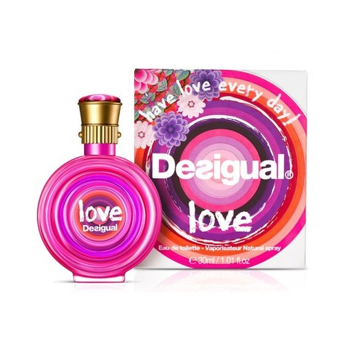 Afbeelding van Desigual Love Eau de toilette 30 ml
