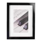 Henzo Piano zwart 15x20 hout portret