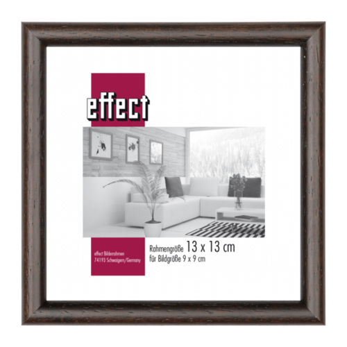 Afbeelding van Effect Profil 20 13x13 hout donkerbruin 0200.1313.44
