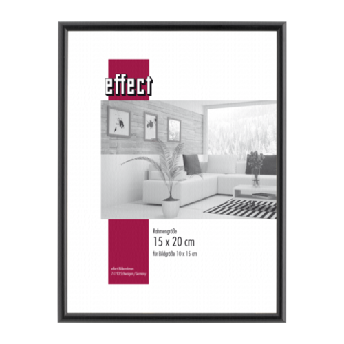 Afbeelding van Effect Profil 20 15x20 hout zwart 0200.1520.03