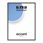 Nielsen Accent 15x20 aluminium zwart 51326