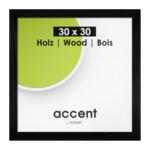 Nielsen Accent Magic 30x30 hout zwart 9733004