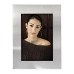 Fotolijst Hama Cardiff zilver 10x15 portret metaal 63815