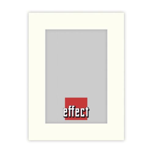 Afbeelding van 1x5 Effect Passepartout Ivory formaat 20x30 uitsnede 13x18