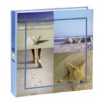 Hama vakantie Sea Shells 10x15 100 pagina's blauw memo 106282