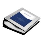 Zilverstad Fotoalbum zilver voor 100 foto's 10x15 6841600