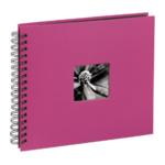 Fotoalbum Hama Fine Art spiraal roze 28x24 50 zwarte pagina's 113680