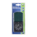 REV timer mechanisch IP44 zwart-groen