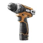 AEG BS12C2 accu-schroefboormachine inclusief 2x1,5 Ah PRO Li accu's