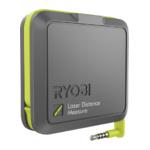 Ryobi RPW-1000 Phone Works Laser-afstandsmeter