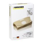 Kärcher papier filterzakken voor MV 2 Serie