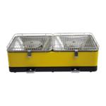 Feuerdesign Santorin geel