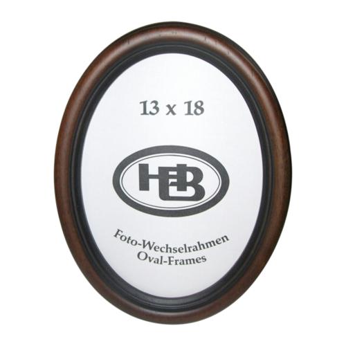 Afbeelding van Effect Profil HB Ovaal 13x18 Hout Noten HB.43