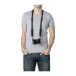 Pacsafe Carrysafe 100 GII camera riem zwart