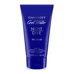 Davidoff Cool Water Night Dive women shower gel 150 ml