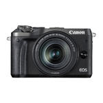 Canon EOS M6 Kit zwart + EF-M 3,5-6,3/18-150 IS STM
