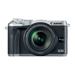 Canon EOS M6 Kit zilver + EF-M 3,5-6,3/18-150 IS STM