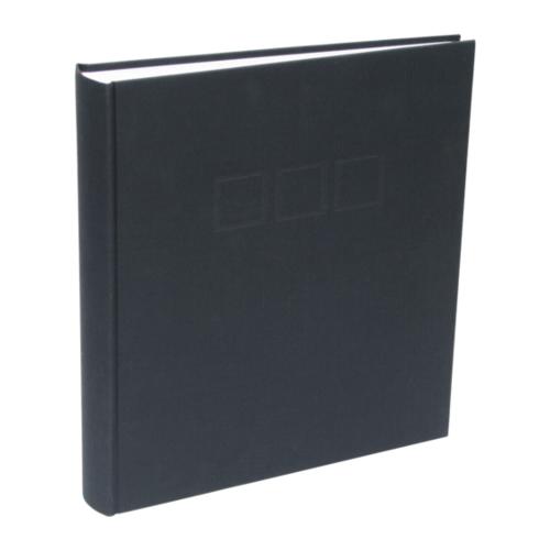 Afbeelding van Deknudt fotoalbum linnen zwart 30x33 100 pagina's A10D20100SI