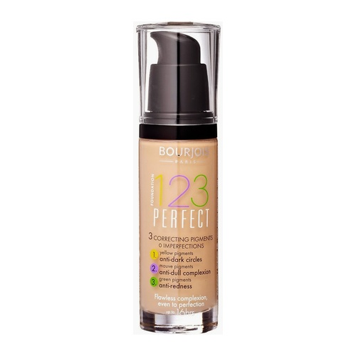 Afbeelding van Bourjois 123 Perfect Liquid Foundation 30 ml 55 Dark Beige