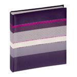 Henzo Levels paars 29x33 100 pagina's boekalbum 9822014