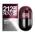 Carolina Herrera 212 Sexy Men New York Pills eau de toilette 20 ml