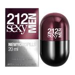 Carolina Herrera 212 Sexy Men New York Pills eau de toilette 20 ml