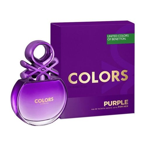 Afbeelding van Benetton Colors de Purple for woman Eau toilette 80 ml