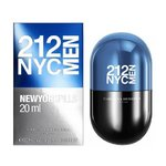 Carolina Herrera 212 Men NYC New York Pills eau de toilette 20 ml