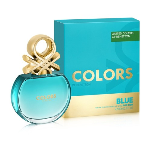 Afbeelding van Benetton Colors de Blue for woman Eau toilette 50 ml
