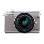 Canon EOS M100 Zilver Limited Edition + EF-M 15-45