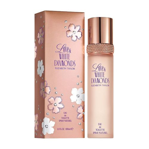 Afbeelding van Elizabeth Taylor Love & White Diamonds Eau de toilette 100 ml