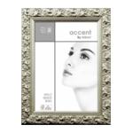 Nielsen Arabesque 30x40 hout portret zilver 8530013