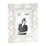 Nielsen Fiore wit/zilver 10x15 kunststof portret 8999335