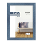 Nielsen Accent Oslo 21x29,7 MDF/hout blauw DIN A4 299294