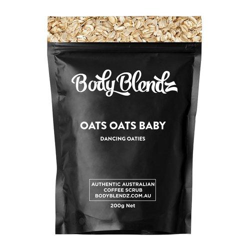 Body Blendz Oats Oats Baby Dancing Oaties natural body scrub 200 gram
