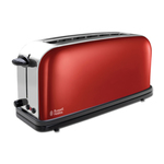 Russell Hobbs 21391-56 Colours Flame Red Long Slot