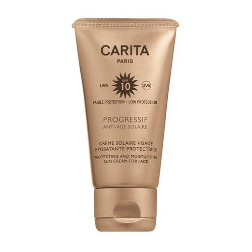 Afbeelding van Carita Progressif Anti age Solaire Sun Cream For Face 50 ml SPF 10