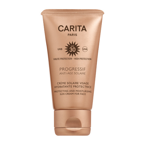 Afbeelding van Carita Progressif Anti age Solaire Sun Cream For Face 50 ml SPF 30