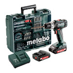 Metabo BS 18 L 18V Li-Ion accu schroef-/boormachine set