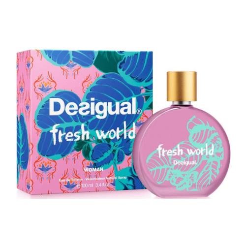 Afbeelding van Desigual Fresh World Eau de toilette 100 ml