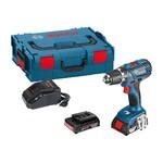 Bosch GSR 18-2 Li Professional + 2x 2,0 Ah accu + L-Boxx