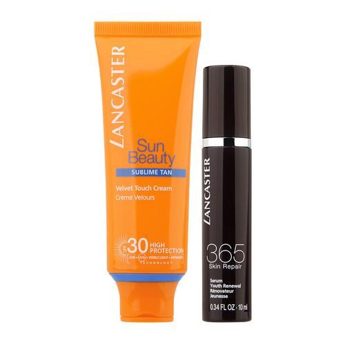 Lancaster Sun Beauty Velvet Touch tan & repair set SPF 30