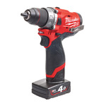 Milwaukee M12FPD-402X accu-slagboormachine