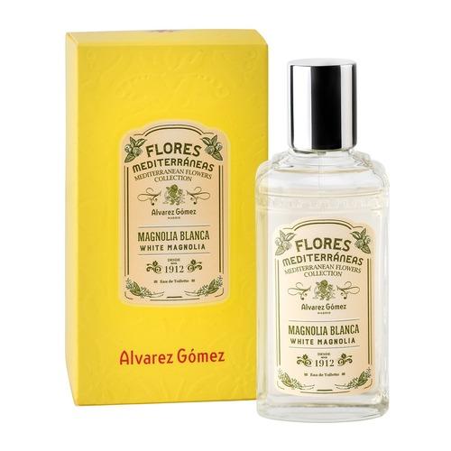 Afbeelding van Alvarez Gomez Flores Mediterraneas Magnolia Blanca Eau de toilette 80 ml